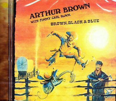 ARTHUR BROWN WITH JIMMY CARL BLACK brown, black & blue CD NEU OVP