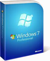 Windows 7 Professional - Win7Pro 32Bit-64Bit OEM Product Key/Upgrade ESD Deutsch