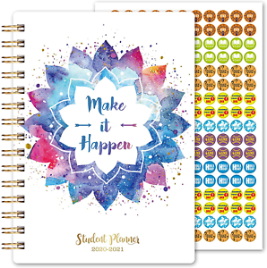 2020-2021 Student Planner-Dated Student Planner 2020-2021 for Middle School or x