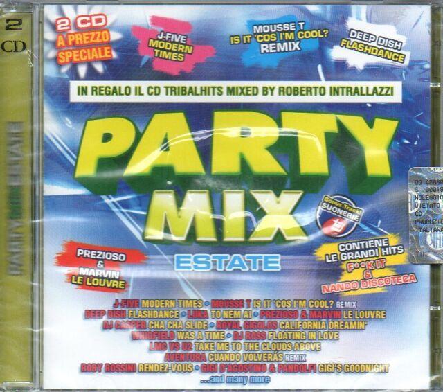 PARTY MIX ESTATE - 2 CD (NUOVO SIGILLATO)