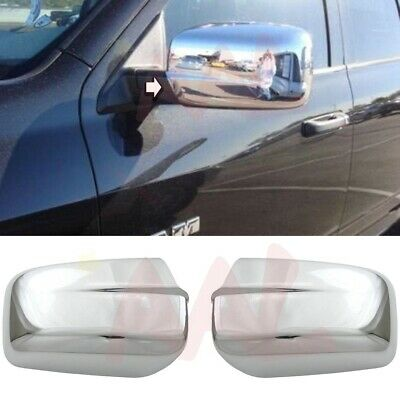 Mirror Chrome Covers AAL FOR 09 10 11 12 DODGE Journey 4 Door Handle W//o PSKH