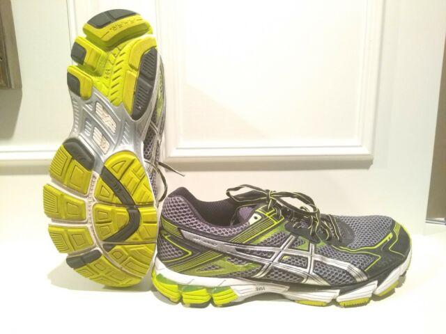 ASICS Mens GT 1000 Running Shoes Black