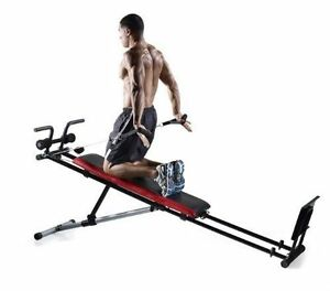 new home gym weider total workout machine incline bench
