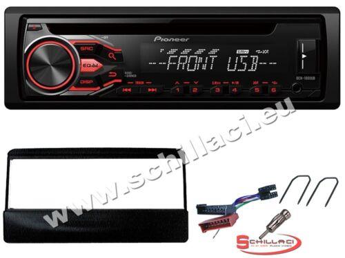 Kit montaggio per Ford Focus Pu Cougar Pioneer DEH-S100UB autoradio CD//USB