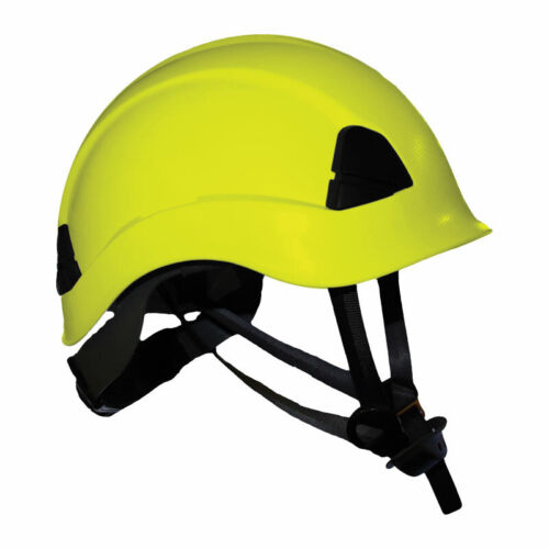 Arborist Climbing Safety Helmet Meets ANSI Tree Climbers Helmet Yellow