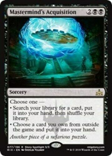 Mastermind/'s Acquisition x1 Magic the Gathering 1x Rivals of Ixalan mtg card