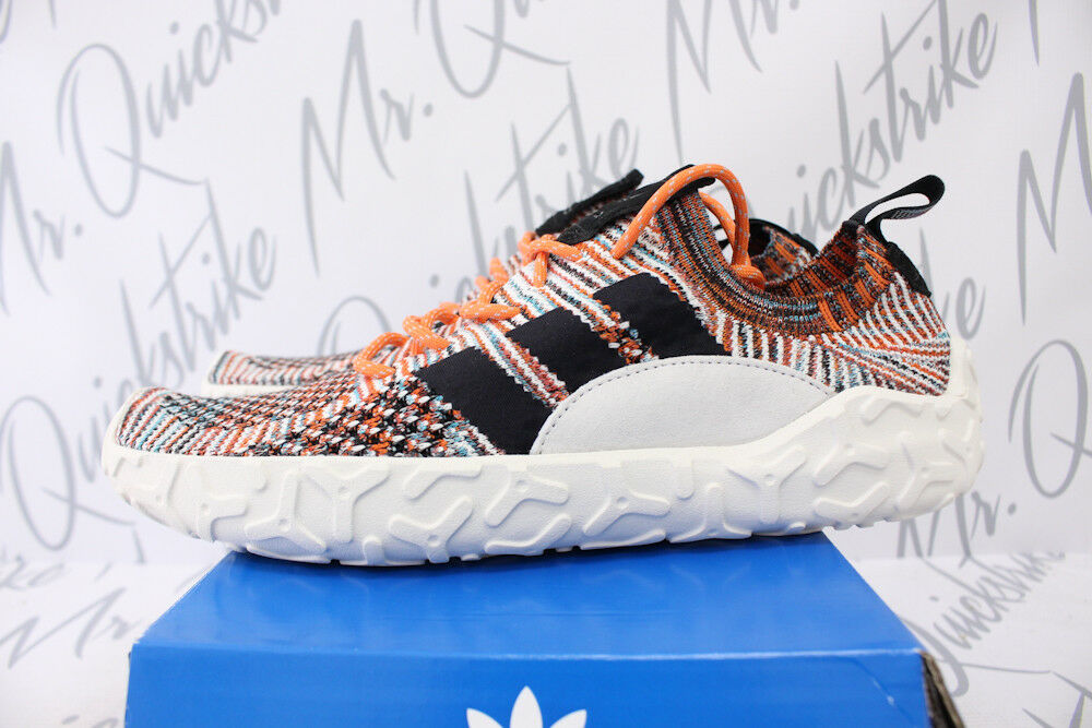 ADIDAS ATRIC F/22 PRIMEKNIT SZ 12 TRACE ORANGE CORE BLACK MERINO WOOL CQ3026