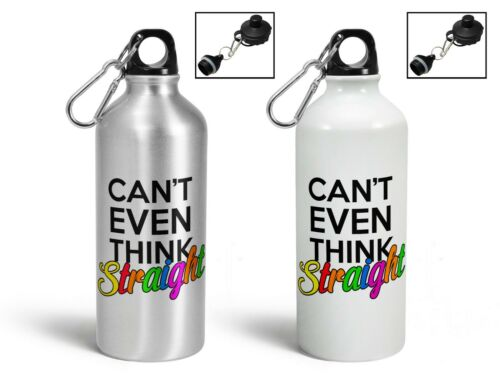 Can/'t Even Think Straight Aluminium Sports Water Bottle