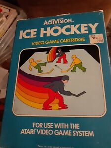 Ice-Hockey-Atari-2600-Video-Game-Complete-in-Box-FREE-SHIPPING