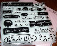 Ctmh D1002 The Simple Things Faith,hope,love Happiness,dream