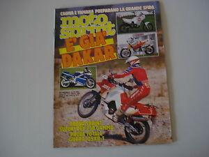 MOTOSPRINT 40/1988 GILERA 125 XR1 XR-1/SUZUKI RGV 250 GAMMA/SALONE COLONIA IFMA