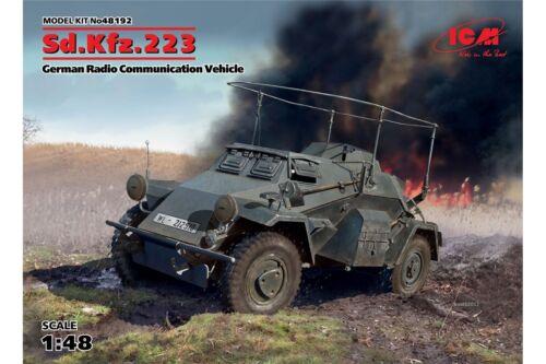 ICM 48192 1//48 Sd.Kfz.223 German Radio Communication Vehicle