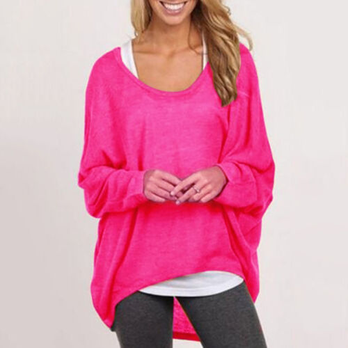 Womens Long Sleeve Knitwear Sweater Knitted Cardigan Shawl Outwear Tops Blouse