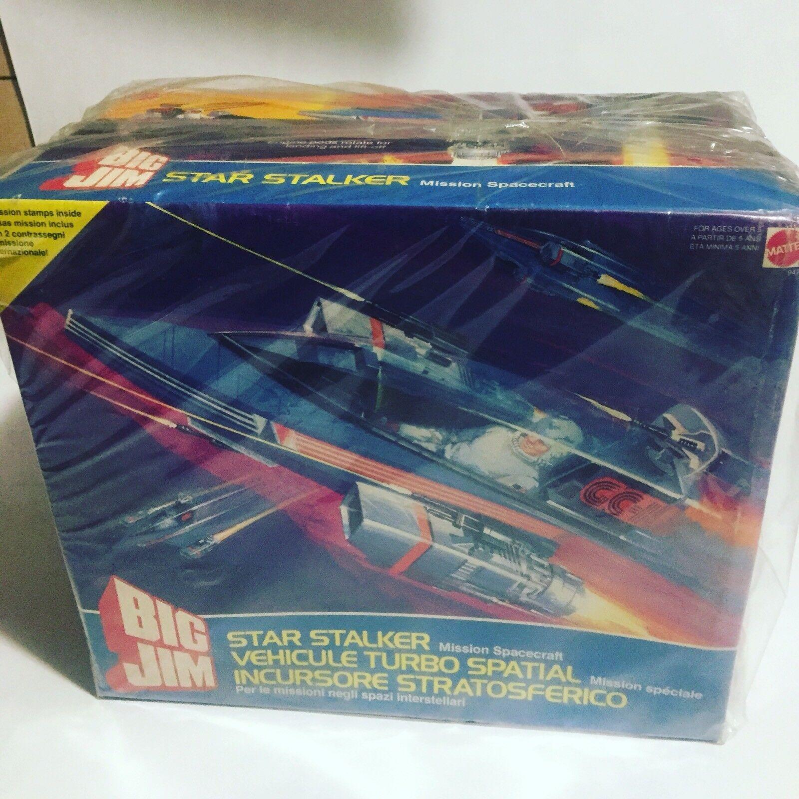 Big Jim Jim Jim Star Stalker Mattel 1986 Veicolo Spaziale 7958a2