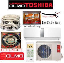 OLMO-TOSHIBA(Compressor)12K btu Ductless15 Seer Mini Split  Heat Pump 115V