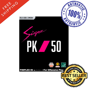 Nittaku Sieger PK50 Table Tennis /& Ping Pong Rubber Choose Color and Thickness