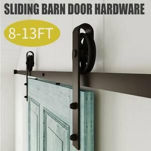8 13ft European Stainless Sliding Barn Wood Door Closet
