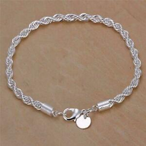 Women-Charm-Silver-Tone-Stainless-Steel-Twisted-Rope-Bangle-Gift-Bracelet-C-P4S4