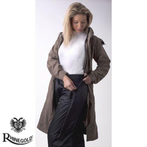 Noir NOUVEAU Rhinegold Imperméable Surpantalon pour équitation Free p/&p 4 Tailles