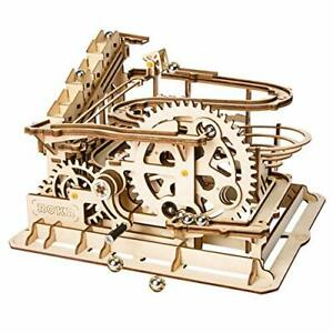 Robotime-mecanico-Toys-3D-Puzzle-artesania-jugar-juego-Corte-Laser-De-Madera