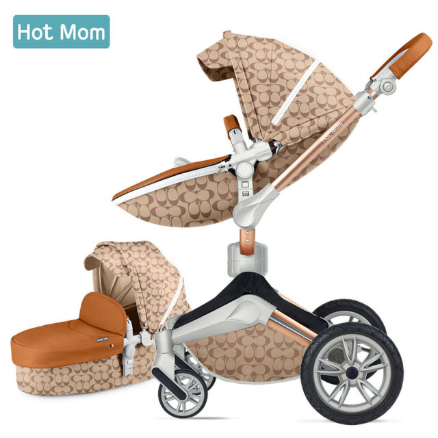 Hot Mom Baby Stroller 2 in 1 travel system with bassinet ...