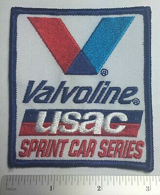 VALVOLINE USAC Sprint Car Series Racing Patch New