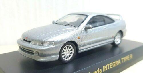1//64 Kyosho HONDA INTEGRA TYPE R SILVER DC2 ACURA diecast car model