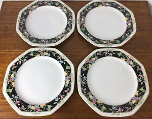 LOT-OF-4-CHRISTOPHER-STUART-CHINA-ORCHARD-PARK-PATTERN-Y0012-DINNER-PLATES