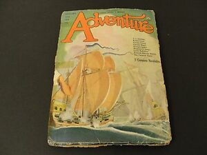 ADVENTURE-PULP-Published-by-Ridgway-Company-N-Y-January-20th-1926-Magazine