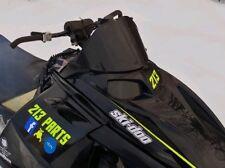 "Low 10"" Gloss Black Windshield Fits Ski-Doo Rev (8 Colors) ~ 213 Parts"