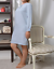 """100/% Natural Pure Flax Linen Sleepwear Nightgown Nightshirt   /""""I/""""  Handmade"""