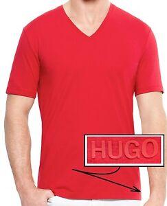 f5da7271f NWT Hugo Boss HUGO Red Label V-Neck Lightweight Luxury T-shirt Tee ...