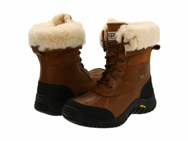 6957da50 NEW WOMEN UGG AUSTRALIA SNOW BOOT ADIRONDACK II OTTER LIGHT BROWN 5469  ORIGINAL