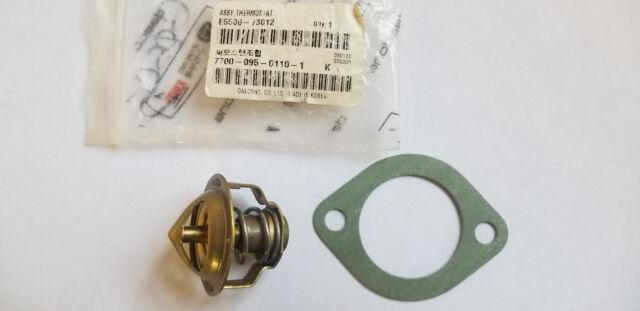 New OEM Kioti Thermostat Assembly E5500-73012 w/ Gasket E5500-73272 LB LK CK20
