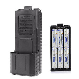 6XAA-BL-5-Battery-Case-Shell-Box-For-BaoFeng-UV-5R-8W-DM-5R-UV-5RE-Walkie-Talkie