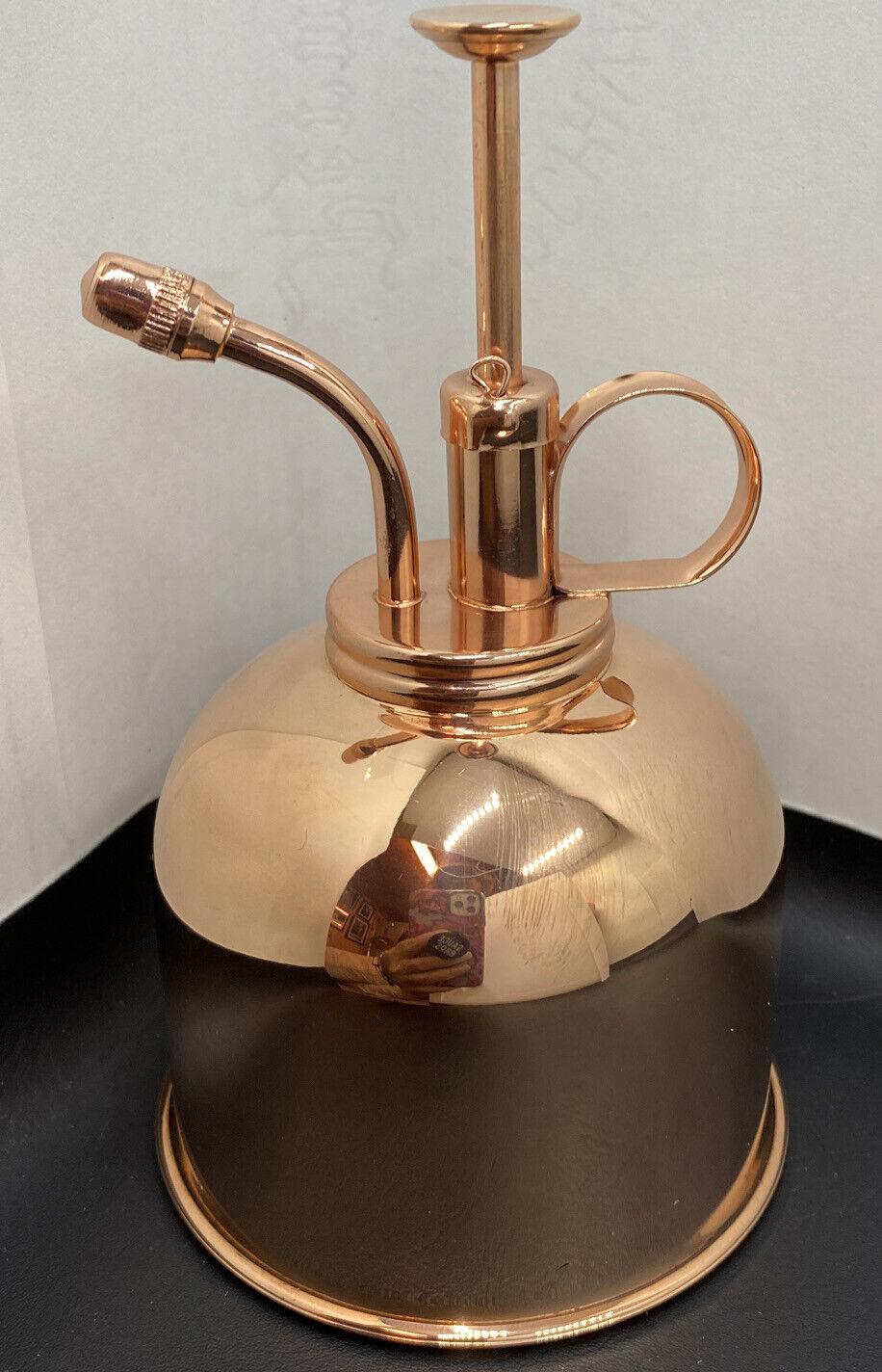 Brass Golden Spray can Plant Spay Bottle Inner Flower Spray Mister Brass
