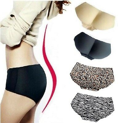 Le Donne Sistema Imbottito Intimo Shapewear Bum Butt Lift Enhancer Brief Panties-mostra Il Titolo Originale