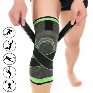 NEW-3D-Weaving-Knee-Brace-Breathable-Support-Running-Jogging-Joint-Pain-Knee-Pad