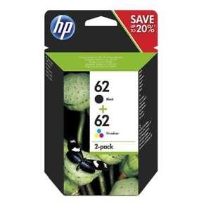 Original HP 62 Schwarz & Farbe Tintenpatrone Multipack N9J71AE Für HP Envy 5540