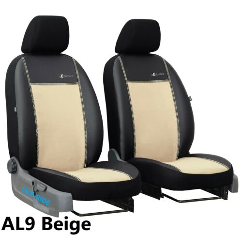 MERCEDES SPRINTER 2006-2018 ARTIFICIAL LEATHER /& ALICANTE SEAT COVERS TAILORED