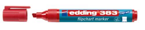 EDDING 383 FLIPCHART-MARKER ROT