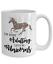 Let/'s Be Unicorns Funny Unicorn Coffee Mug Gift 11OZ. I/'m Done Adulting