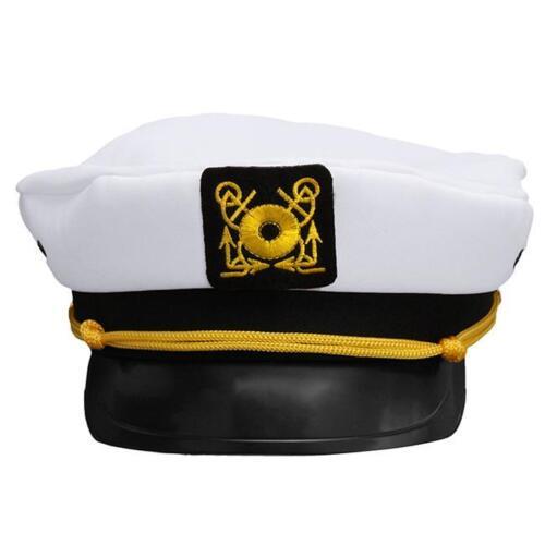 Sea Sailor Captain Cap Hat Navy  Fancy Dress Accessaries Costume Creative Decor
