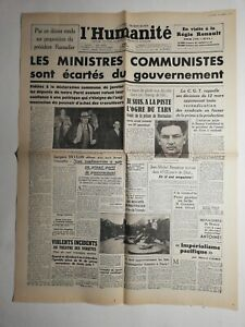 N380-La-Une-Du-Journal-L-039-humanite-6-mai-1947-ministres-communistes-gouvernement