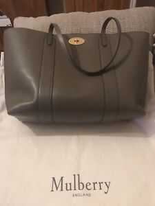 Image is loading Mulberry-Bayswater-Small-Classic-Grain-Leather-Tote-Bag- 31d94232ea