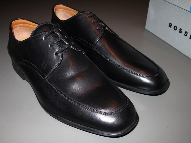 FRATELLI ROSSETTI ONE 2008 Laced Laced Laced Black shoes DELHI black Sz 7½  Calfskin Unworn f0580c