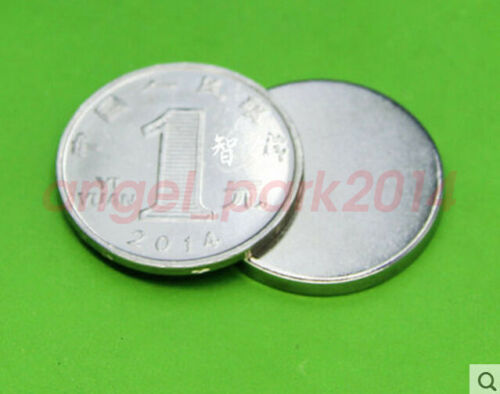 wholesale 25mm x 3mm Disc Super Strong  Rare-Earth Neodymium Magnets  N50