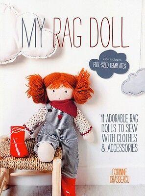 My Rag Doll Book by Corrine Crasbercu Stuffed Rag Doll Clothes Patterns