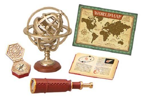 Re-Ment Miniature Black Cat Antique Shop Set # 7 Classical globe
