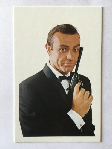 CARTE POSTALE JAMES BOND SEAN CONNERY BONS BAISERS DE RUSSIE POSTCARD 007